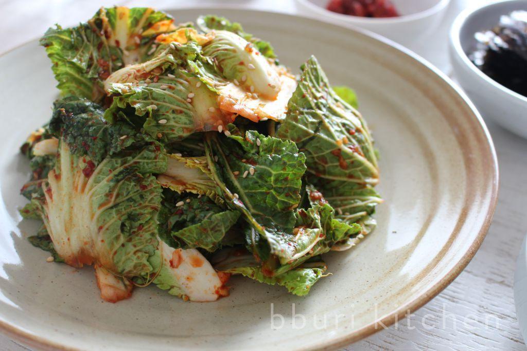 ... : Bomdong geotjeori (spring cabbage quick kimchi) · bburi kitchen